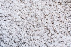 Gray texture of a concrete wall, layer of decorative plaster, abstract background. Gray texture of a concrete wall, layer of decorative plaster, close-up stock photo