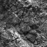 Gray texture of rocks Royalty Free Stock Photography