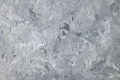Gray texture stucco wall for background and space for text Stock Photography