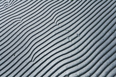 Gray texture waves Royalty Free Stock Photography