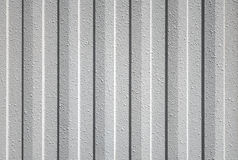 Gray textured plastic cladding Royalty Free Stock Image