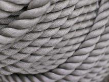 Gray Thick Rope Fotos de archivo libres de regalías