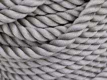 Gray Thick Rope Fotografía de archivo