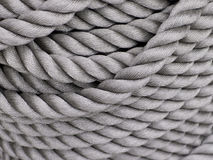 Gray Thick Rope Stock Photography