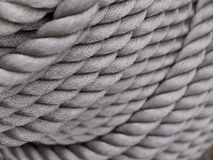 Gray Thick Rope Royalty Free Stock Photos