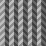 Gray Three Dimensional Chevron Seamless-Muster Lizenzfreies Stockbild