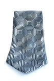 Gray Tie with Pattern Royalty Free Stock Photos