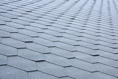 Gray tile roof Stock Images