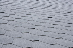 Gray tile roof Royalty Free Stock Photo