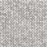 Gray tile wall Stock Photography