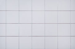 Gray tile wall. Stock Images