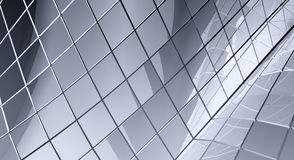 Gray tiled abstract background Stock Photo