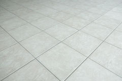Gray tiled floor Royalty Free Stock Photo