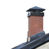 Gray Tiled Roofing stor detaljerad isolerad vertikal Closeup, modern bostads- texturerad modell för hustaktegelplattor detalj royaltyfria bilder