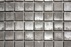 Gray tiles Stock Image