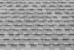 gray tiles roof for background Stock Photos