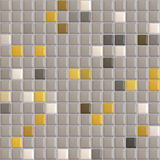 Gray tiles textures. A texture of a mosaic of a swimming pool Royalty Free Stock Photo