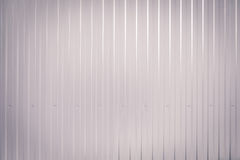Gray toned Corrugated metal texture surface Stock Photos