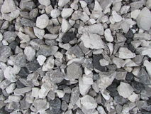 Gray Tones Crushed Rock Background Stock Photography