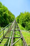 Gray Train Roadrail Royalty Free Stock Images