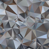 Gray Triangle Abstract Background stock illustratie