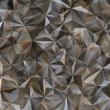Gray Triangle Abstract Background. Vector Pattern of Geometric Shapes Royalty Free Stock Photography