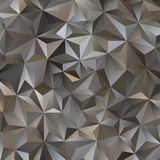 Gray Triangle Abstract Background. Vector Pattern of Geometric Shapes Royalty Free Stock Photos