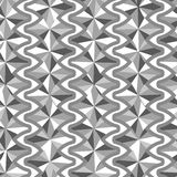 Gray triangle pattern Royalty Free Stock Images