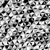 Gray Triangle Pattern Vector bianco nero Fotografie Stock Libere da Diritti