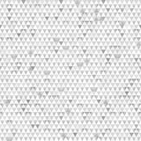 Gray triangle seamless texture with paper effect Stock Photography