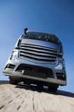 Gray truck Stock Photography