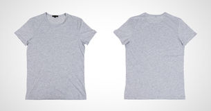 gray tshirt Royalty Free Stock Photography