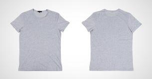 gray tshirt Royalty Free Stock Photography
