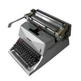 Gray  type writer Stock Images