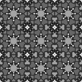 Gray universal vector seamless patterns, tiling. Geometric ornaments. Royalty Free Stock Image