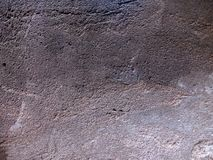 Gray, urban, old cement wall. royalty free stock photos