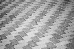 Gray urban roadside pavement background texture Stock Photo