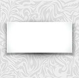 Gray, vector, delicate, luxurious background with  Royalty Free Stock Images