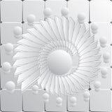 Gray Vector Spiral Pattern o textura libre illustration