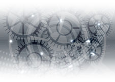 Gray vector technology concept, abstract background Stock Images