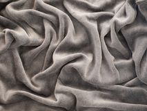 Gray velour background Royalty Free Stock Image