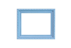 Gray Vintage picture frame on white background Stock Images