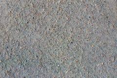 Gray volcano sand, small stone surface stock photos