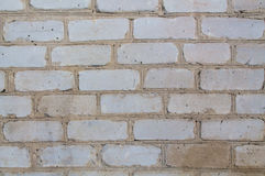 Gray wall. Background brick gray old wall royalty free stock photo