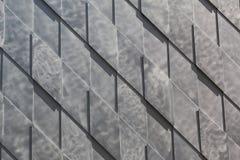 Gray Wall Background Rhombus Pattern fotografia de stock