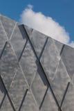 Gray Wall Background Rhombus Pattern imagem de stock