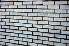 Gray texture of a fragment of brickwork on the wall of the house Royalty Free Stock Photos