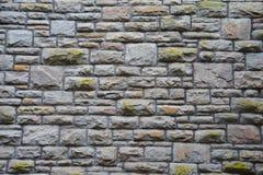 Gray Wall Bricks Royalty Free Stock Photography