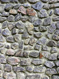 Gray wall, built of stone. Stone texture background. Gray wall, built of stone. Gray Stone texture background closeup Royalty Free Stock Photography