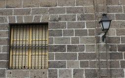 Gray wall Royalty Free Stock Photography